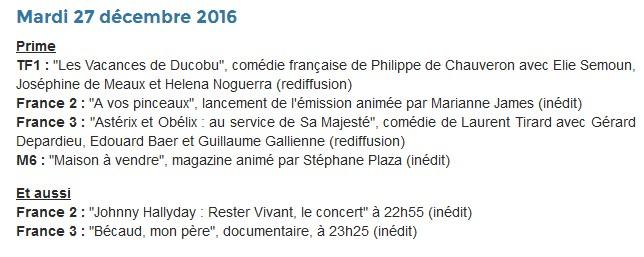 """Album live """"Rester vivant tour"""" ?  - Page 24 Tv10"""