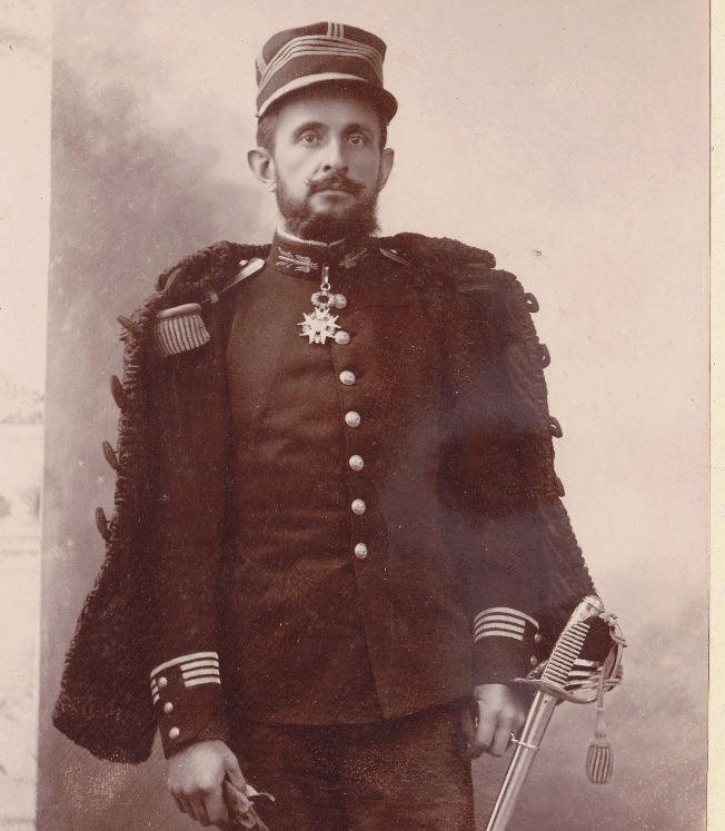 Ma collection : uniformes-coiffures-archives de la Coloniale et la colonisation - Page 9 Sans_t14