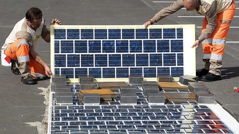 La France a démarré la construction de la première route solaire au monde 117