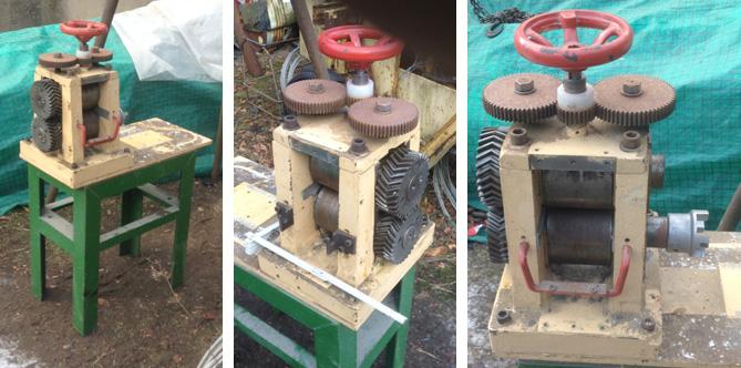 Fabrication de cartouches RF (perc. annulaire) Lamino10