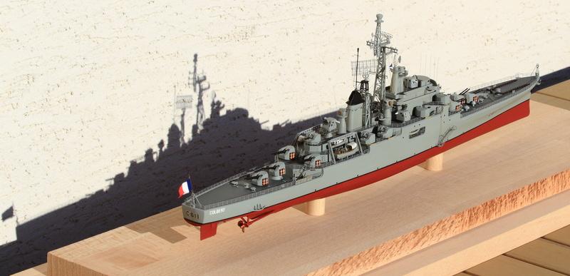 Croiseur Colbert 1/400 Heller  Img_0162
