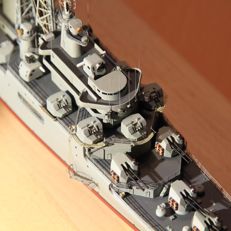 Croiseur Colbert 1/400 Heller  Img_9932