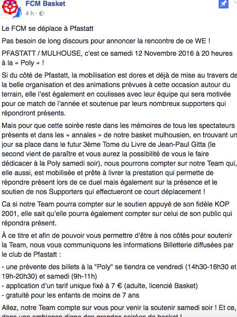 [J.08] Pfastatt AS Saint-Maurice - FC MULHOUSE : 68 - 62 Captur10