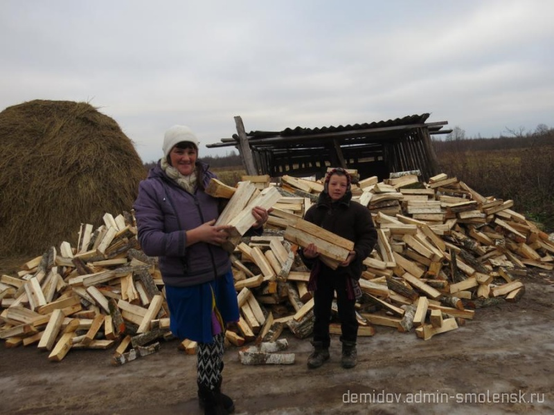 «Дрова для жителей Смоленской области» 123