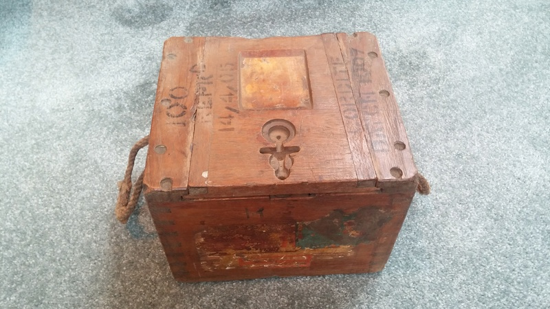Boer War British .303 H3 Ammunition Box H3_amm10
