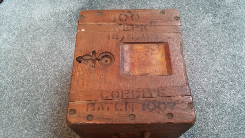 Boer War British .303 H3 Ammunition Box H3_amm12