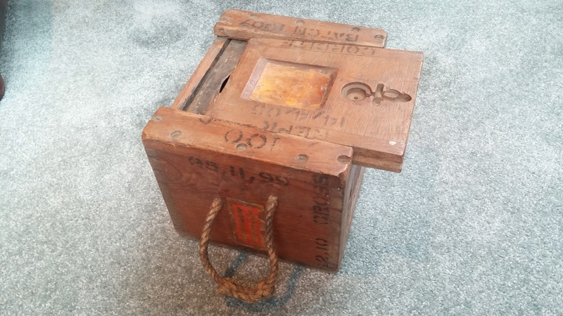 Boer War British .303 H3 Ammunition Box H3_amm13