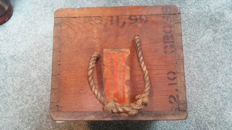 Boer War British .303 H3 Ammunition Box H3_amm15