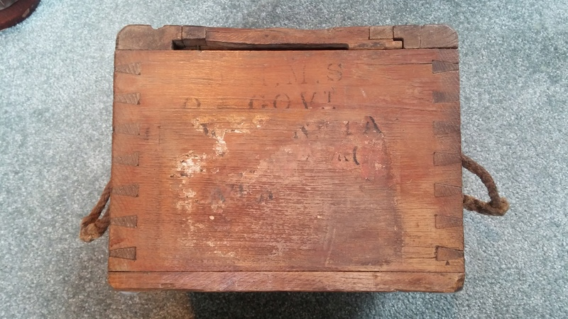 Boer War British .303 H3 Ammunition Box H3_amm19