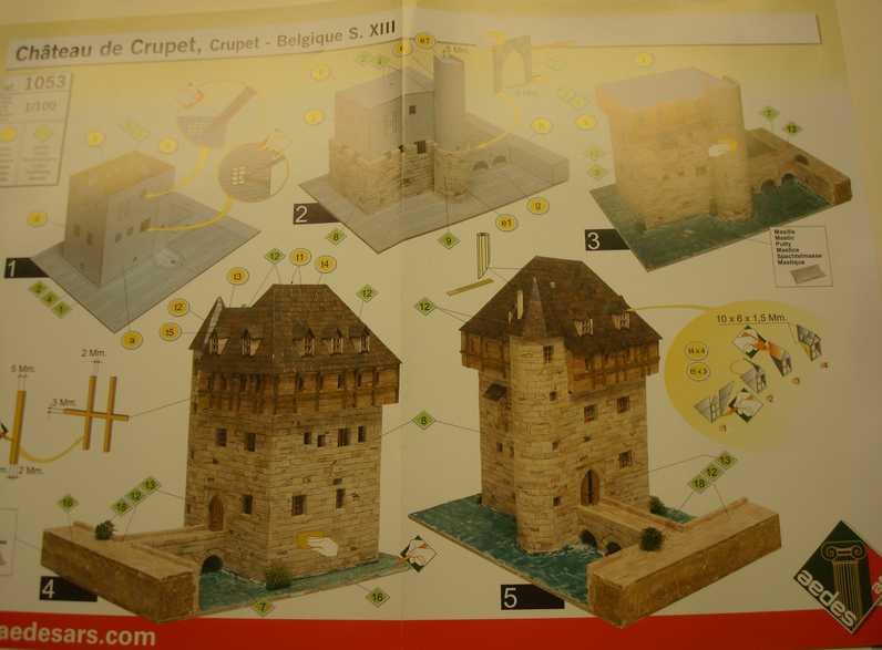 Aedes Ars ... Château de Crupet Plan13
