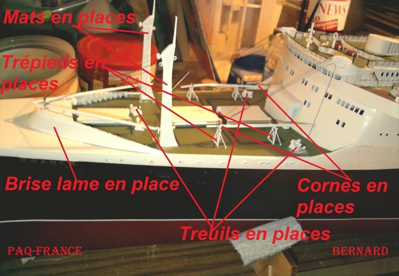 Construire le France 1/250 de chez Hachette - Page 21 137_d10