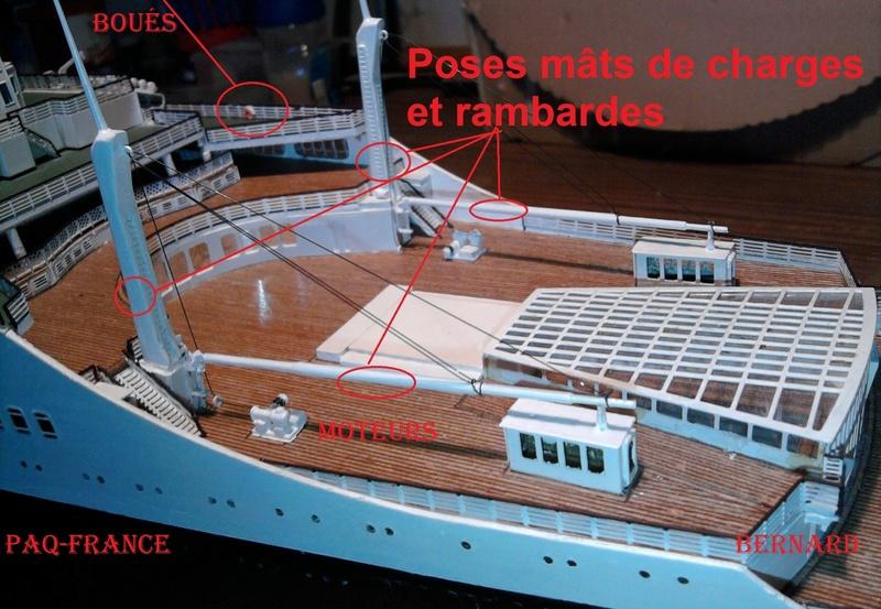 Construire le France 1/250 de chez Hachette - Page 21 138bis12