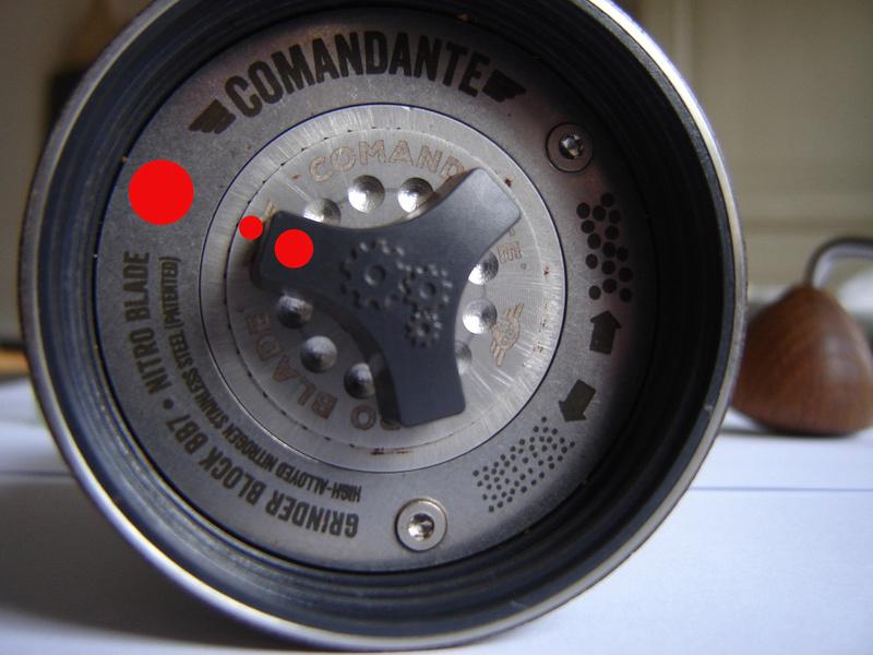 Fiche produit : El Comandante C40 Nitro Blade Repere11