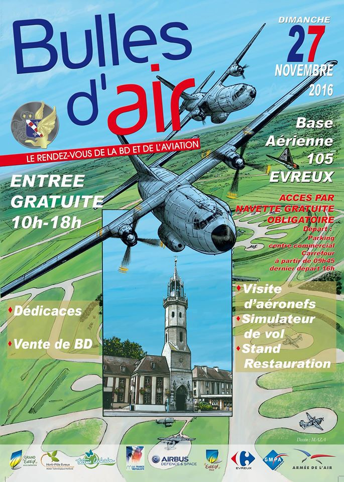 Festival bulles d'air à la BA 105 d'Evreux 15016310