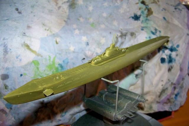 Sous -marin Soviétique K-21 100_1227