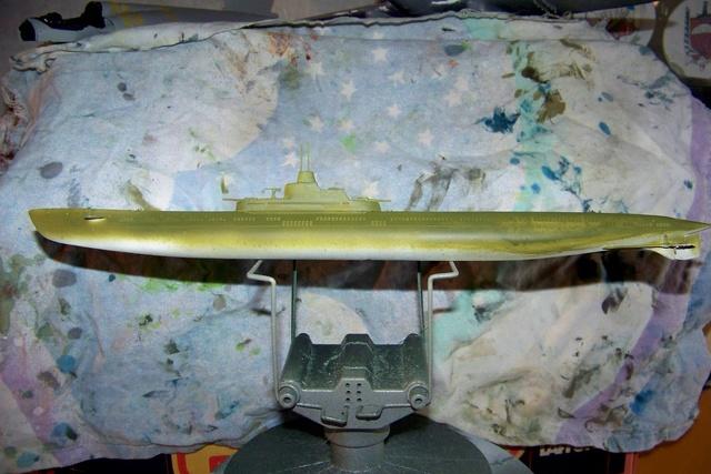 Sous -marin Soviétique K-21 100_1228