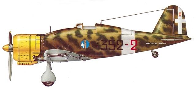 FIAT G.50 B. Airfix  32_210