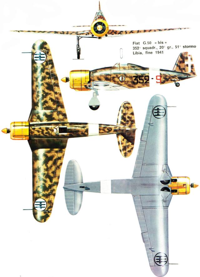 FIAT G.50 B. Airfix  32_2410