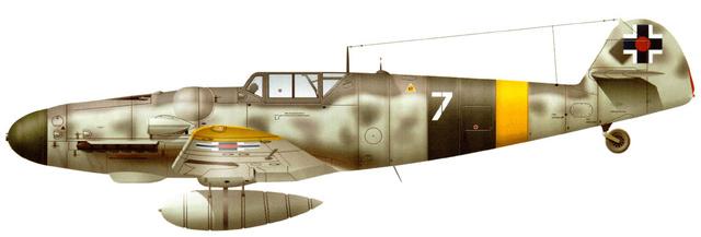 Bf 109 G-6 Erla Eduard Weekend 1/48 Reggia Aeronatica (Fini) 83_511