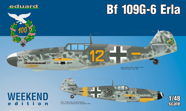 Bf 109 G-6 Erla Eduard Weekend 1/48 Reggia Aeronatica (Fini) 84142110
