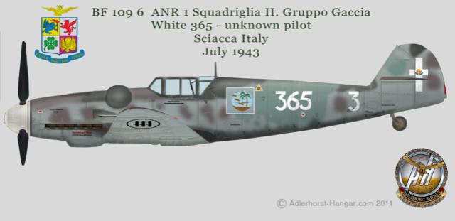 Bf 109 G-6 Erla Eduard Weekend 1/48 Reggia Aeronatica (Fini) Bf109g26