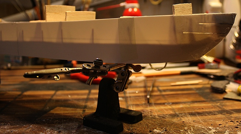 Ein Kartonmodell schwimmfähig mit RC bauen, MS SOLINGEN 1:250 - Seite 2 Img_0048