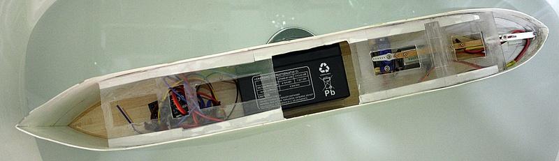 Ein Kartonmodell schwimmfähig mit RC bauen, MS SOLINGEN 1:250 - Seite 5 Img_0072