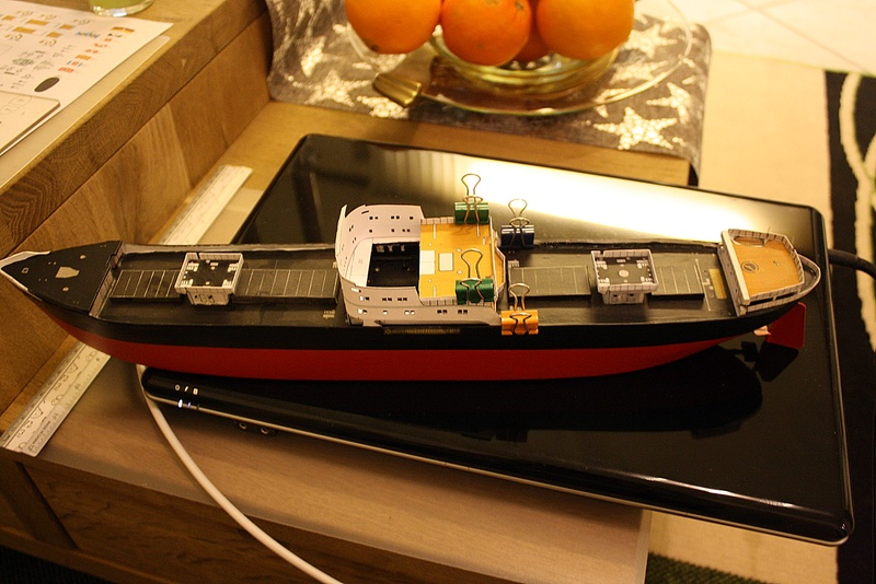 Ein Kartonmodell schwimmfähig mit RC bauen, MS SOLINGEN 1:250 - Seite 7 Img_0085