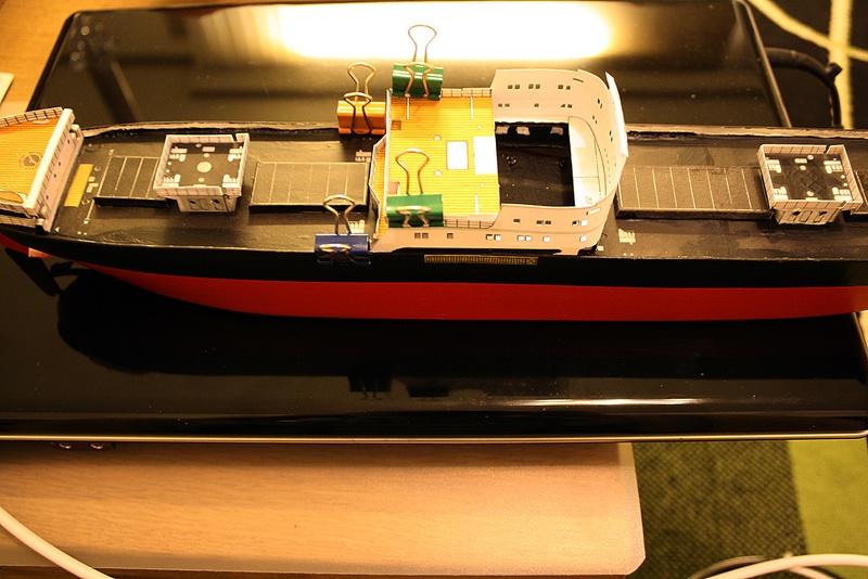 Ein Kartonmodell schwimmfähig mit RC bauen, MS SOLINGEN 1:250 - Seite 7 Img_0087