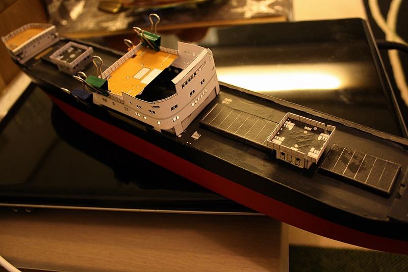 Ein Kartonmodell schwimmfähig mit RC bauen, MS SOLINGEN 1:250 - Seite 7 Img_0089