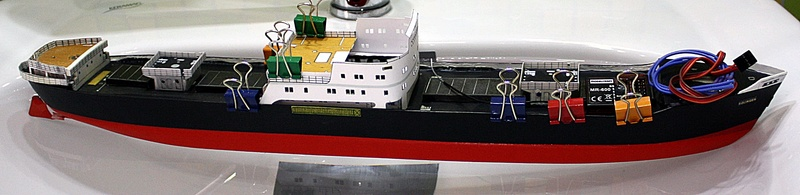 Ein Kartonmodell schwimmfähig mit RC bauen, MS SOLINGEN 1:250 - Seite 7 Img_0090