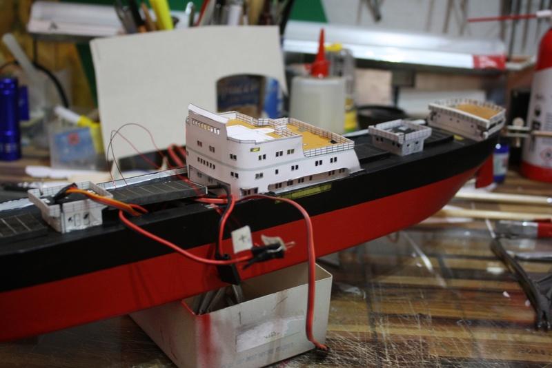 Ein Kartonmodell schwimmfähig mit RC bauen, MS SOLINGEN 1:250 - Seite 7 Img_0092
