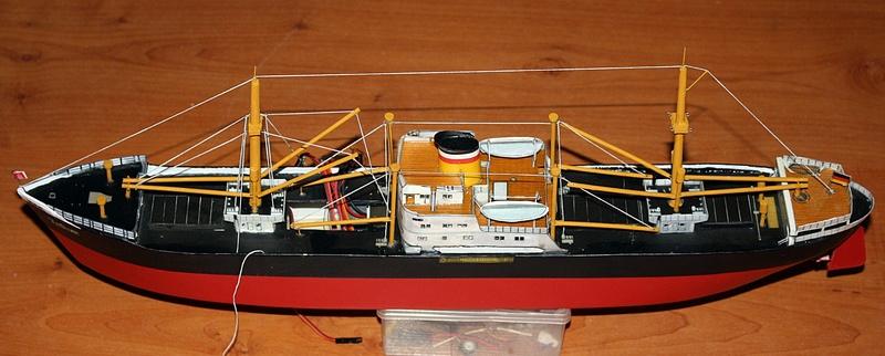 Ein Kartonmodell schwimmfähig mit RC bauen, MS SOLINGEN 1:250 - Seite 8 Img_0106