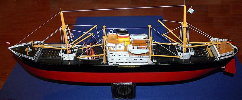 Ein Kartonmodell schwimmfähig mit RC bauen, MS SOLINGEN 1:250 - Seite 8 Img_0107