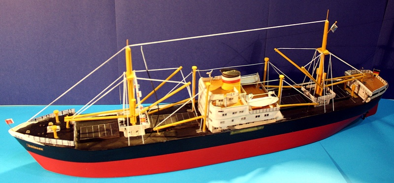 Ein Kartonmodell schwimmfähig mit RC bauen, MS SOLINGEN 1:250 - Seite 8 Img_0108