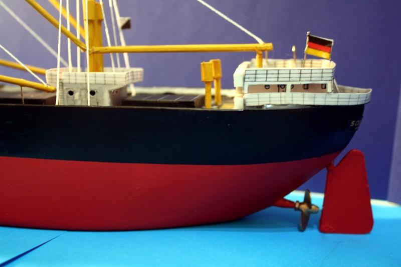 Ein Kartonmodell schwimmfähig mit RC bauen, MS SOLINGEN 1:250 - Seite 8 Img_0115