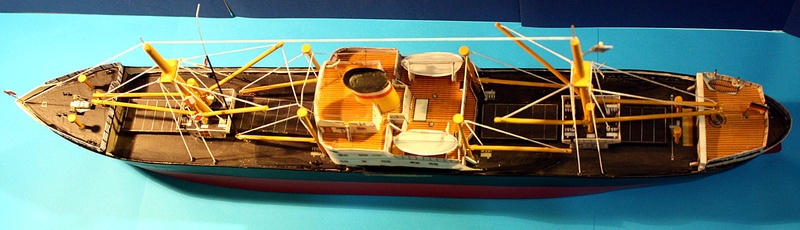 Ein Kartonmodell schwimmfähig mit RC bauen, MS SOLINGEN 1:250 - Seite 8 Img_0116
