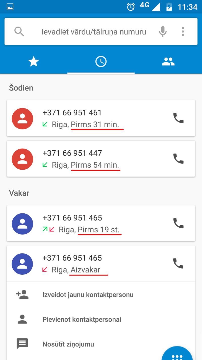 Dīvainie tālruņu numuri un nepierasītās sms īsziņas Krani10