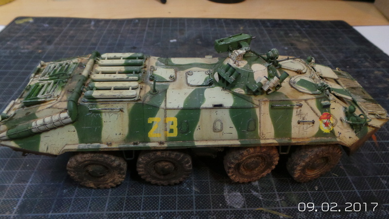 BTR-70 tourelle MA7 - Zvezda - 1/35 20170210