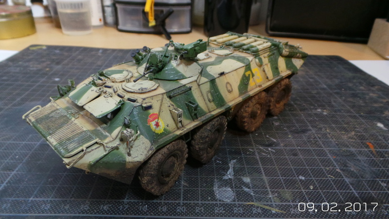 BTR-70 tourelle MA7 - Zvezda - 1/35 20170212