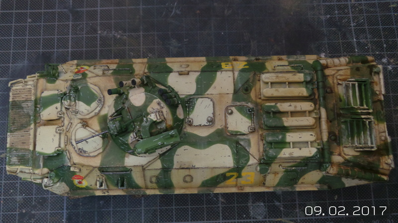 BTR-70 tourelle MA7 - Zvezda - 1/35 Btr70-11