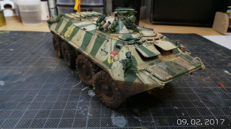 BTR-70 tourelle MA7 - Zvezda - 1/35 Btr70-12
