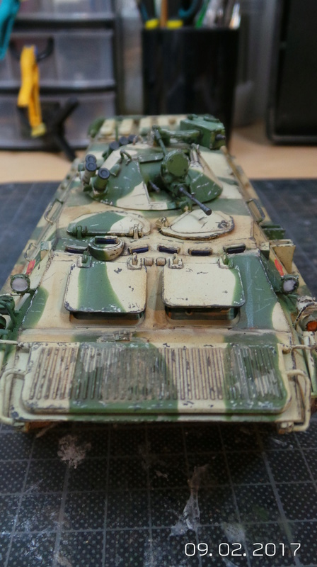 BTR-70 tourelle MA7 - Zvezda - 1/35 Btr70-13