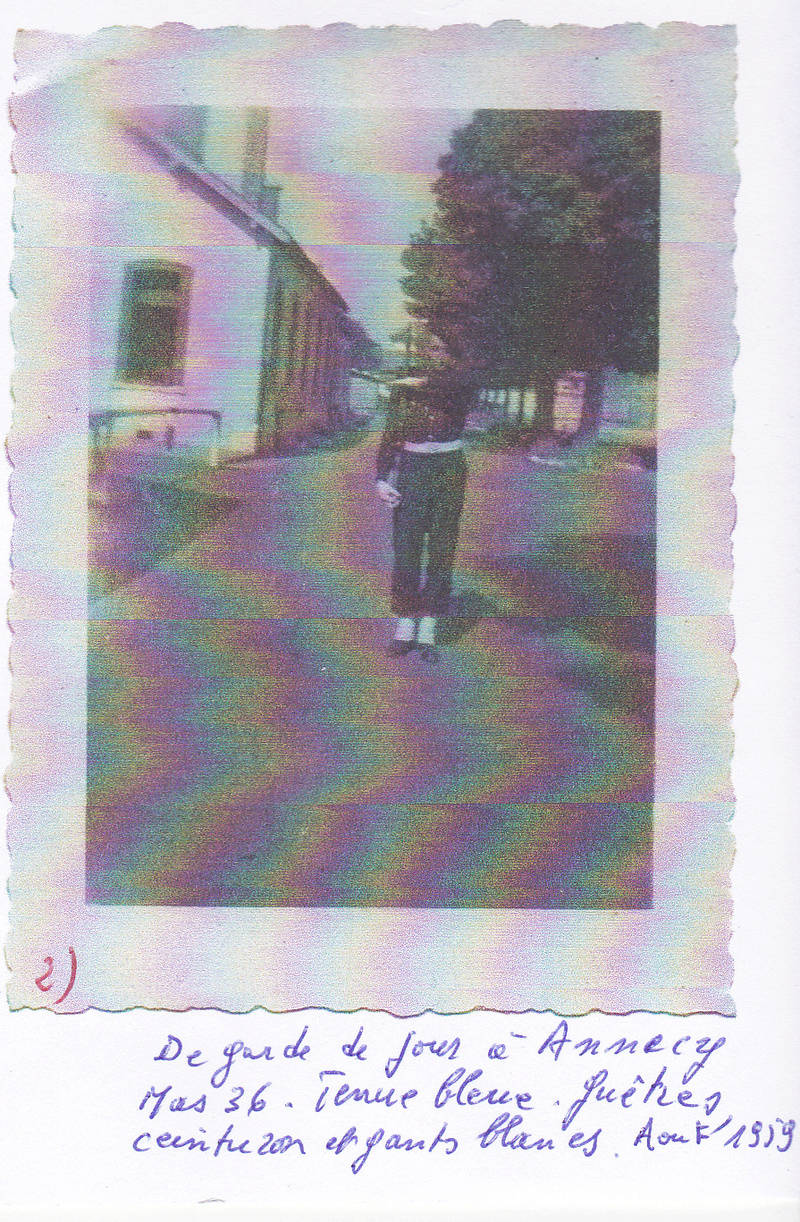 Chasseur du 27e BCA, Annecy 1959 Sans_t13