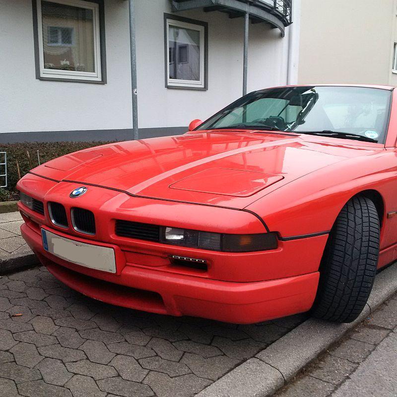 BMW 840Ci - auf dem Parkplatz schnappgeschossen 422