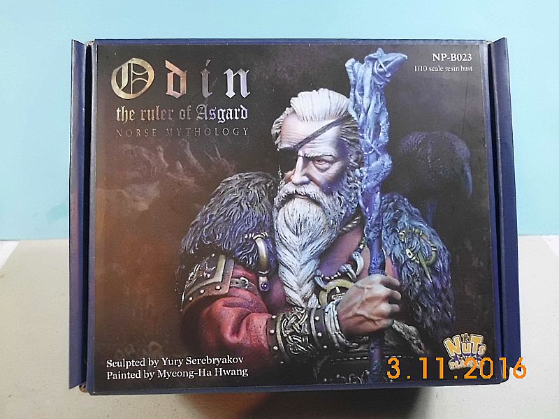 Nutsplanet NP-B023 - Odin, the ruler of Asgard - Resinbüste 1/10 Dsci0010