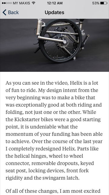 Projet Helix : vélo pliant en titane - Page 6 Image410