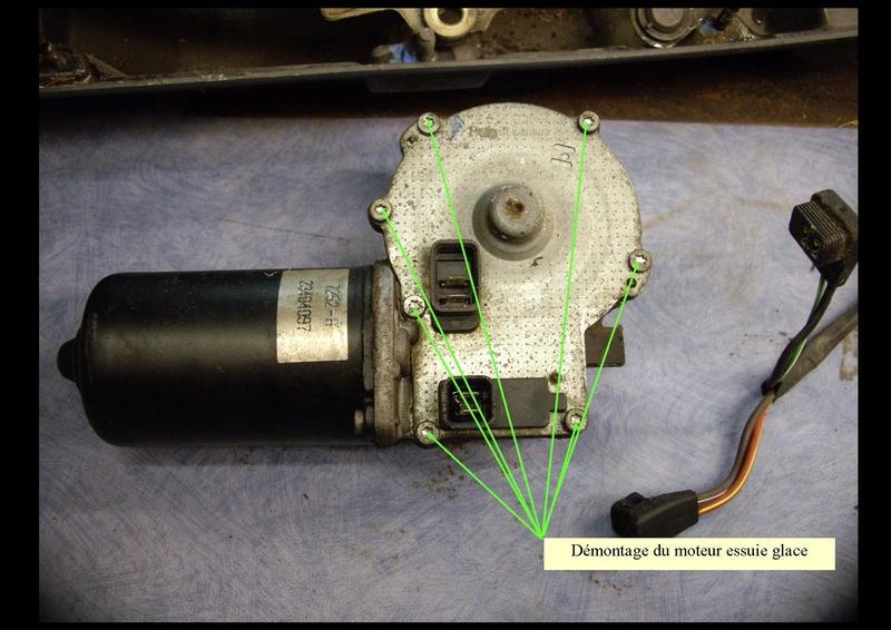 moteur d'essuie glace chrysler grand voyager S3 98 Dymont11