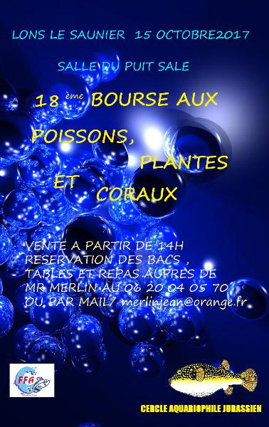 Concours affiche 17 ème bourse aux poissons. Affich11