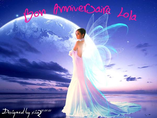 Bel Anniversaire Lola759